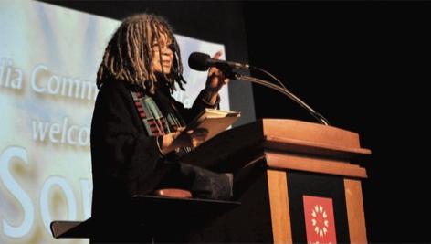 Poet Sonia Sanchez Visits LaGuardia