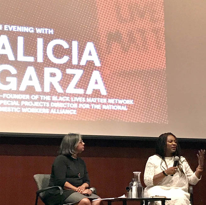 Black Lives Matter co-founder Alicia Garza - true solidarity